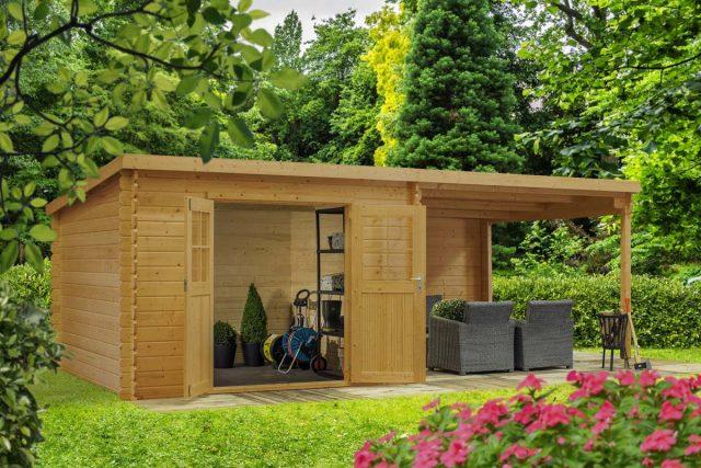 abri jardin design